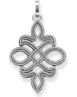 Rebel At Heart Sterling Silver Pendant