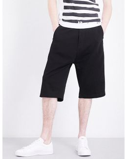 P-mike Stretch-cotton Shorts