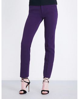 Lacerta Tapered Stretch-crepe Trousers