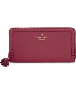 Orchard Street Lacey Leather Purse