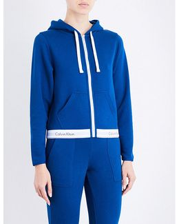 Modern Cotton Zip-up Cotton-jersey Hoody
