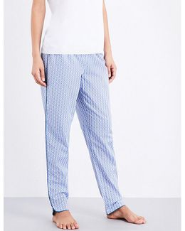 Ladies Patterned Classic Printed Cotton Pyjama Bottoms