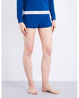 Modern Cotton Cotton-jersey Shorts
