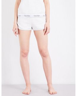 Modern Fleece-lined Jersey Shorts