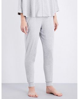 Relaxed-fit Cotton-blend Jogging Bottoms