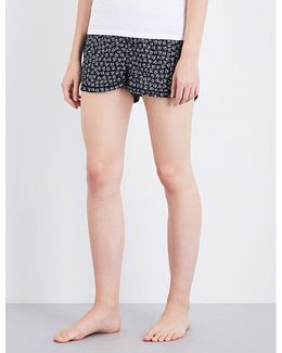 Printed Cotton Pyjama Shorts