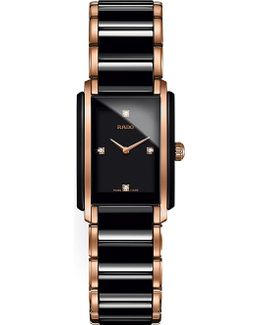 R20612712 Integral Ceramic And Rose Gold Watch