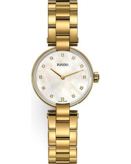 R22857923 Coupole Gold Watch
