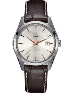 R32115115 Hyperchrome Stainless Steel And Leather Watch