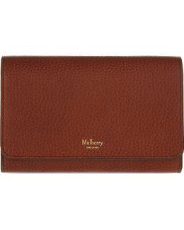 Continental Medium Leather Wallet