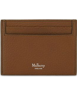 Grained Leather Card Holder