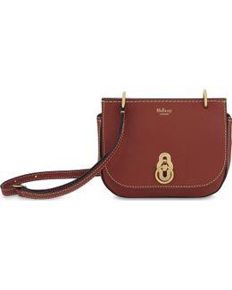 Amberly Leather Cross-body Bag