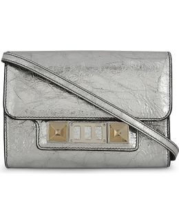 Ps11 Metallic Leather Wallet-on-chain