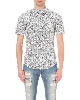 S-blu Regular-fit Cotton Shirt