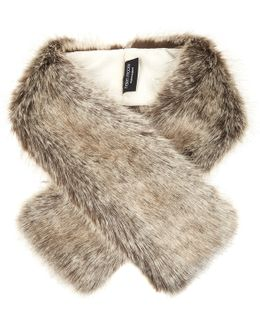 Tippet Faux-fur Scarf