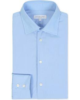 Poplin Tailored-fit Single-cuff Shirt