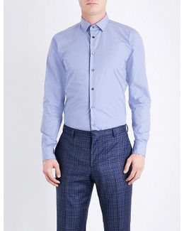 Contemporary-fit Cotton-poplin Shirt
