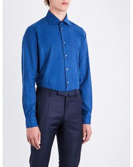 Contemporary-fit Corduroy Shirt