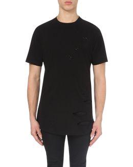 Shoreditch Cotton-jersey T-shirt