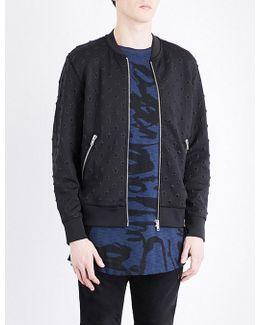 Joe Star-embellished Bomber Jacket