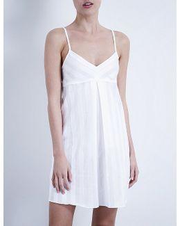 Shadow Stripe Cotton Nightdress
