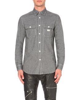 S-munste Slim-fit Cotton Shirt