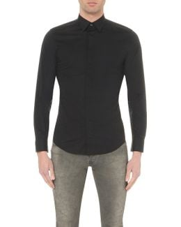 S-nap Concealed-button Shirt