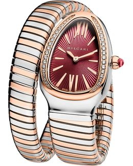 Serpenti Tubogas 18ct Pink-gold