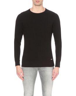 S-willard Cotton-jersey Sweatshirt