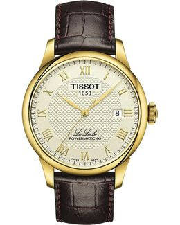 T006.407.36.263.00 Le Locle Gold-plated Watch