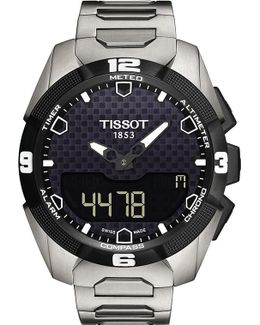 T091.420.44.051.00 T-touch Expert Solar Titanium And Sapphire Crystal Watch
