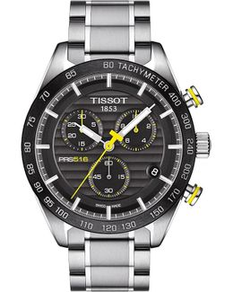 Prs 516 Stainless Steel Bracelet Chronograph Watch