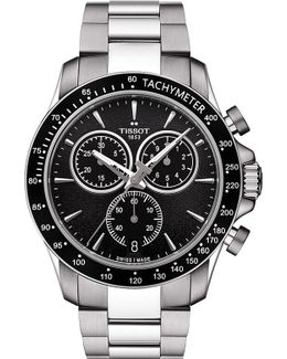 T106.417.11.051.00 V8 Stainless Steel Chronograph Watch