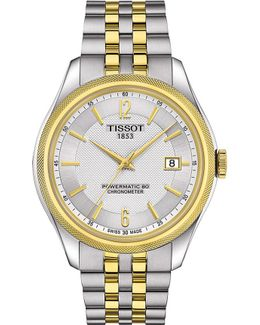 T1084082203700 Ballade Stainless Steel Automatic Watch