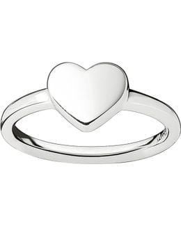 Classic Silver Heart Ring
