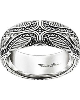 Rebel At Heart Maori Sterling Silver Ring
