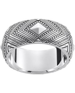 Africa Sterling Silver Ring