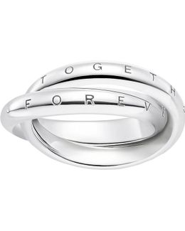 Forever Together Sterling Silver Ring