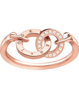 Together Forever 18ct Rose Gold-plated Ring