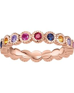 Royalty Multi-stone 18ct Rose Gold-plated Ring