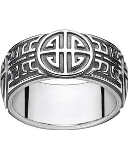 Rebel At Heart Blackened Sterling Silver Ring