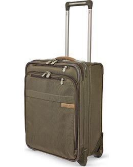 Commuter Expandable Upright Two-wheeled Suitcase
