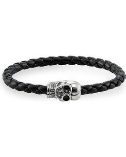 Silver Skull Unity Bracelet
