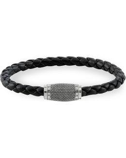 Rebel At Heart Leather Unity Bracelet