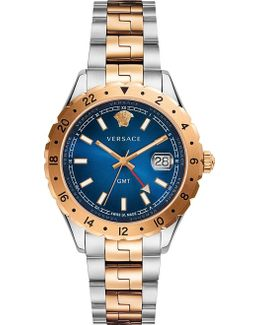 V11060017 Acropolis Gold And Stainless Steel Watch
