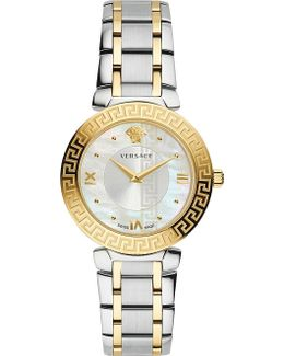 Divine Gold And Stainless Steel Watch