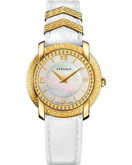 Vam010016 Dv25 Stainless Steel And Mother-of-pearl Watch