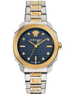 Vqd140016 Dylos Two Tone Watch