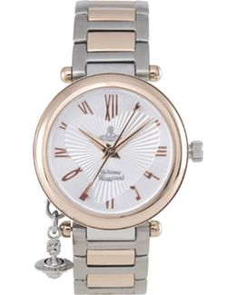 Orb Rose Gold And Silver Ladies' Watch