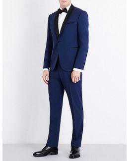 Eve Tailored-fit Wool-blend Suit